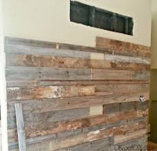 reclaimed barn wood wall how to make a pallet wall using free pallet wood