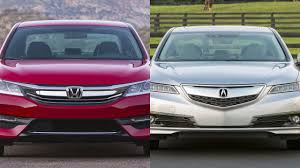 nissan acura 2015 2016 honda accord vs 2015 acura tlx youtube