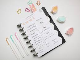your own planner custom planner inserts with studio l2e sts