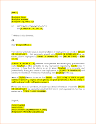 9 how to write a letter of recommendation for a coworker