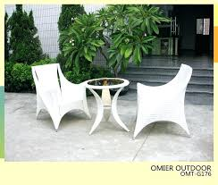 White Patio Furniture Sets Awesome White Resin Wicker Outdoor Patio Furniture Set Or White