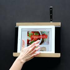 tablette pour cuisine support tablette pour cuisine tablio actagare pracsentoir a