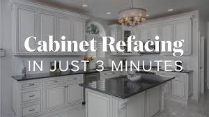 can you reface laminate kitchen cabinets cabinet refacing in just 3 minutes kitchen magic
