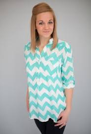 chevron blouse in blue chevron fashion pinterest