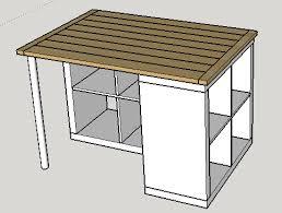 plan de travail central cuisine ikea plan de travail pour ilot central plein la barraque
