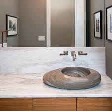 modern powder room sinks modern powder room sink sculptural stone bowl sink on a marble