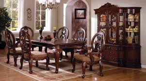 Formal Dining Room Sets With China Cabinet by Von Furniture Dresden Formal Dining Room Set In Cherry