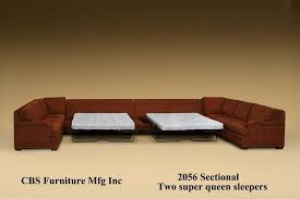 Sofa Bed Sectional With Storage Popular Of Leather Sofa Bed Sectional Sleeper Pull Out Endearing