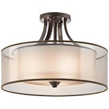 Flush Ceiling Lights For Bedroom Kichler 20 Wide Bronze Ceiling Light Fixture Ceiling