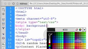 html layout header content footer html5 fixed header and footer div web page layout creation tutorial