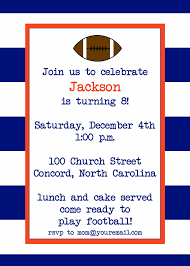 invitations rugby stripe sports invitations sweet birdie u0027s nest
