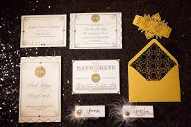 gatsby wedding invitations great gatsby wedding for the to in nc