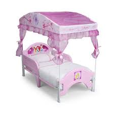 Sofia The First Toddler Bed Delta Children Disney Princess Canopy Toddler Bed Baby Toddler