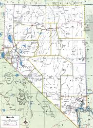 nevada counties map nevada county map