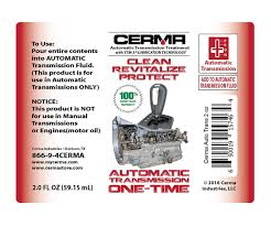 amazon com cerma automatic transmission treatment one time
