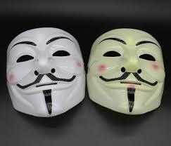 salli 20 16cm v mask vendetta party mask halloween mask party