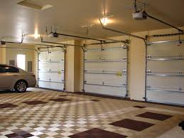 oversized two level six car garage with all weather tile u2026 flickr