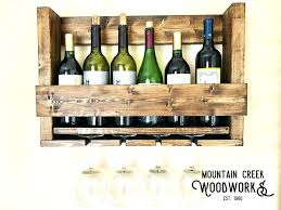 wine glass cabinet wall mount wine glass shelf wine rack glass description hanging wooden wine