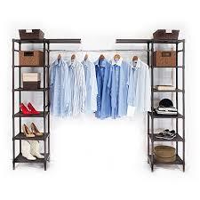 freestanding closet organizers walmart walmart closet storage