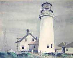 Best Cape Cod Lighthouses - george glazer gallery art art nouveau to modernism bernath