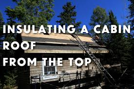 Insulation Blanket Under Metal Roof by How To Insulate A Cabin Roof And Floor Youtube