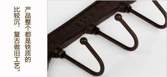 Decorative Coat And Hat Hooks Rack Beam Picture More Detailed Picture About Creative Wall