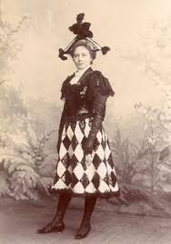a lovely young victorian canadian woman wearing a whimsically