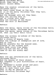 hymns carols and songs title merry bells