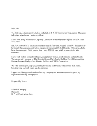 introduction letter sales introduction letter template editable
