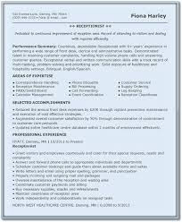 Reception Resume Samples Receptionist Resume Receptionist Resume Templates Resume
