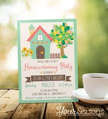 Cards For Housewarming Invitation Housewarming Invitation Personalized Printable Digital File