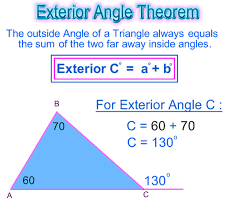 exterior angle of a triangle passy s world of mathematics