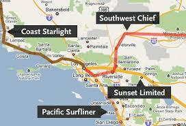 amtrak map usa go metro to arizona the source