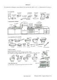 vocabulaire en cuisine fiche pédagogique fle impératif