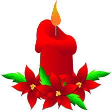 christmas candle clip art 62