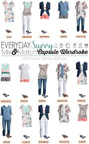 over 40 work clothing capsule jcpenney capsule wardrobe for spring