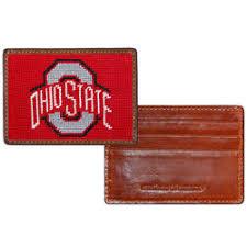 alumni wallet ohio state buckeyes alumni traveler slim bi fold wallet