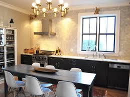 kitchen room pottery barn dining table caroline correa wall