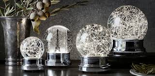 starry light snow globe collection rh