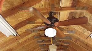 emerson casablanca classic premium ceiling fan brown k55 youtube