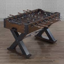 amazon com foosball table wooden foosball table amazing vintage intended for 19 udouplaty
