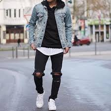 light blue denim jacket mens 20 men looks with a denim jacket to wear this spring styleoholic