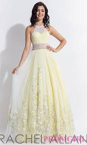 yellow dress prom dresses evening gowns promgirl pt ra 6044