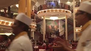Freedom Of The Seas Main Dining Room Menu - freedom of the seas main dining room may 2016 youtube