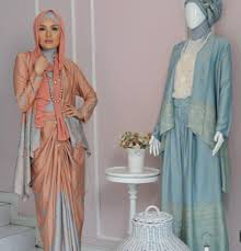 blazer wanita muslimah modern inspirasi gaun muslim modern debusana fashion