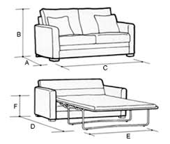 Sofa Bed Dimensions Creative Of Sleeper Sofa Dimensions With - Sofa bed dimensions