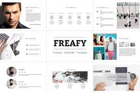 freafy creative keynote template by editorial monster awesome