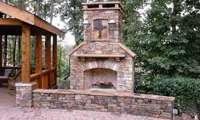 outdoor fireplaces u2013 american outdoors