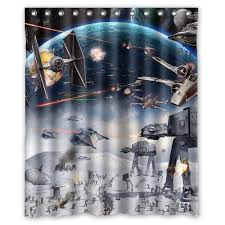 Amazon Com Shower Curtains - amazon com generic star wars shower curtain 60 inch by 72 inch