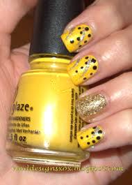 nail designs part two of yellow nails